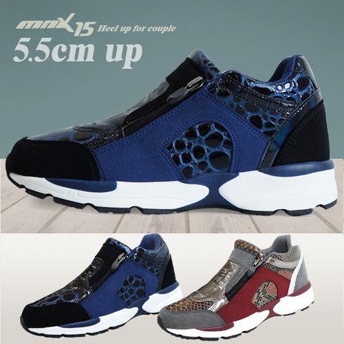 MNX15 여성공용 키높이스니커즈5.5cm미로 네이비(miro navy)