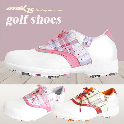 MNX15 여성용 클래식 스파이크 골프화59wg03 핑크(59wg03pink)