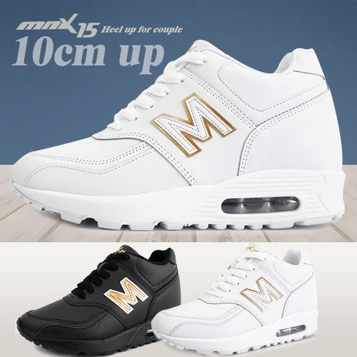 MNX15 남여공용 키높이운동화10cm아론화이트(aronwhite)
