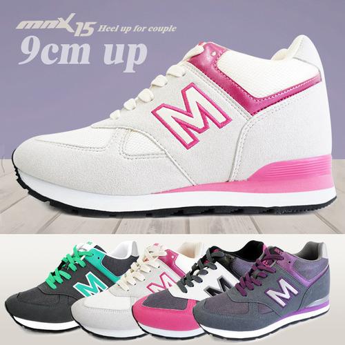 MNX15 여성용 키높이운동화9cm레이베이지(raybeige)