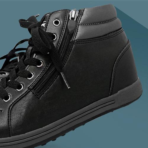 MNX15 남여공용 키높이운동화6cm빈센트 블랙(vincent black)